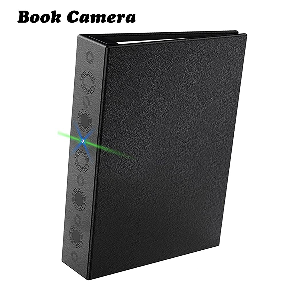 10. Conbrov HD Book Camera with Max 24 Month Long Time Pir Motion Detection and Night Vision Recording
