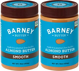 product image for IALIKD Almond Butter, Smooth, Paleo Friendly, Keto, Non-GMO, Skin-Free, 16 Ounce 2 Pack