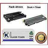 Pach Ahorro Toner + Tambor Compatible para uso en Ricoh Aficio SP 1200SF - Impresora multifunción láser. Enviado desde Madrid.