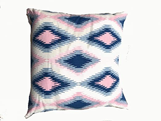 Amazon.com: Q&C Home Pillow John Robshaw DP-CHR-20 - Cojín ...