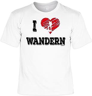 Pilgern Wandern T-Shirt Damen Rucksacktour laufender Rucksack Wandern Trekking Wander Urlaub Geschenke Pilger Reise