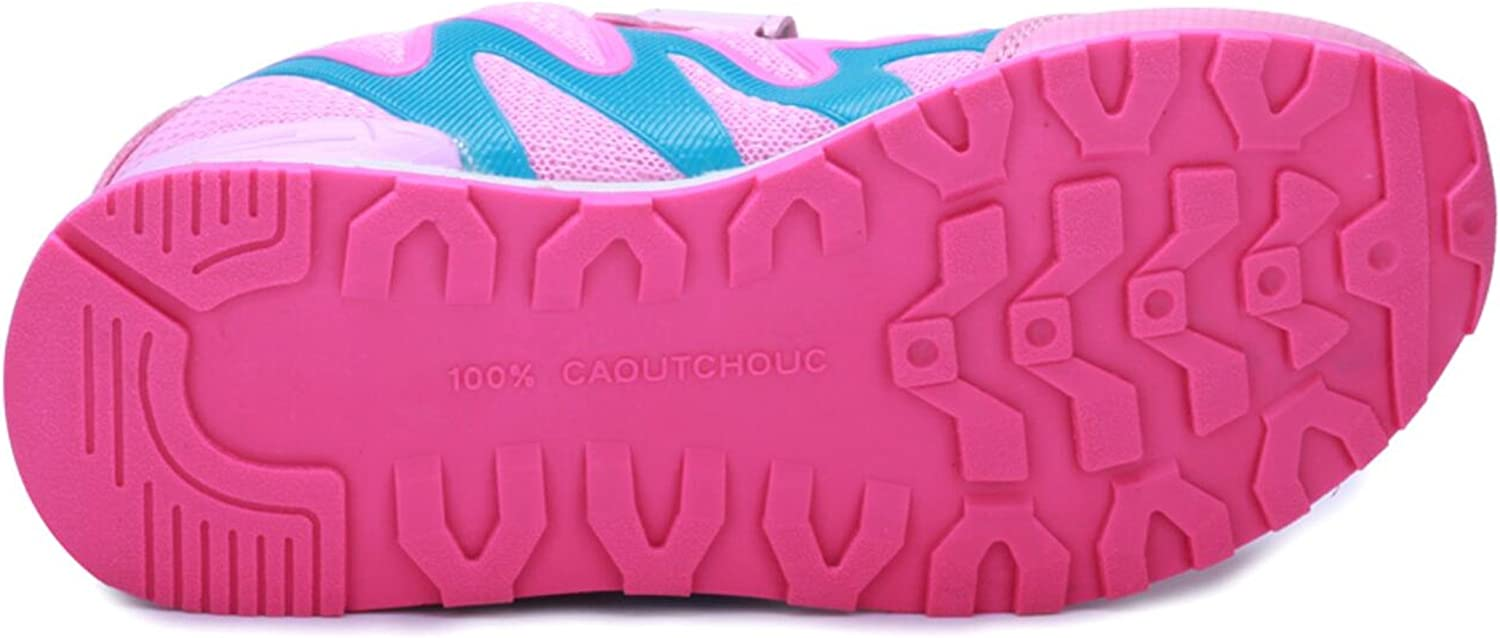 PPXID Boys Girls Mesh Trainers Skidproof Athletic Sneakers Sport Running Shoes