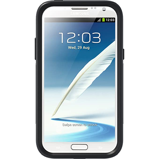 OtterBox Commuter Series Case for Samsung Galaxy Note 2 - Black  (Discontinued by Manufacturer)