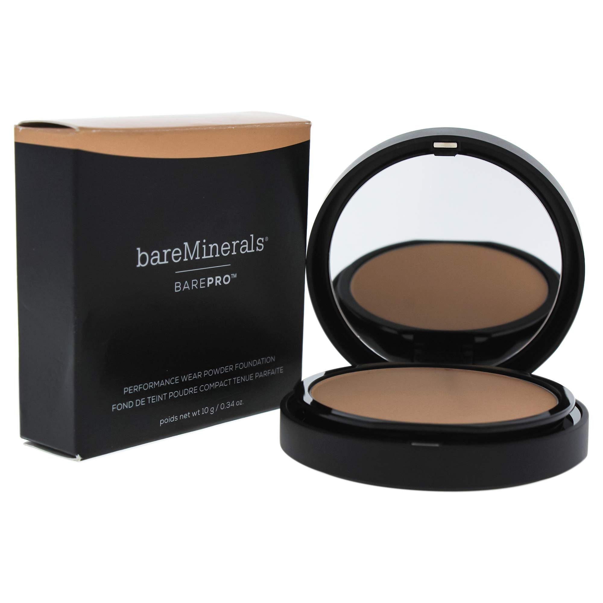 bareMinerals Barepro Performance Wear Powder Foundation, Cool Beige, 0.34 Ounce by bareMinerals