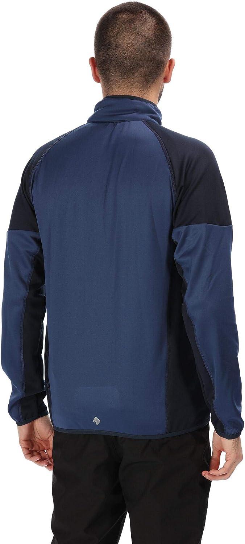 Hombre Regatta Yare II Warm Backed Extol Stretch Softshell Jacket Carcasa Suave