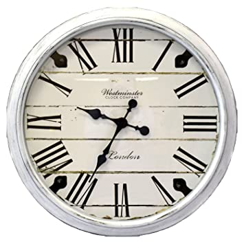 30 wall clock 42 inch oversized 30quot wall clock white amazoncom 30
