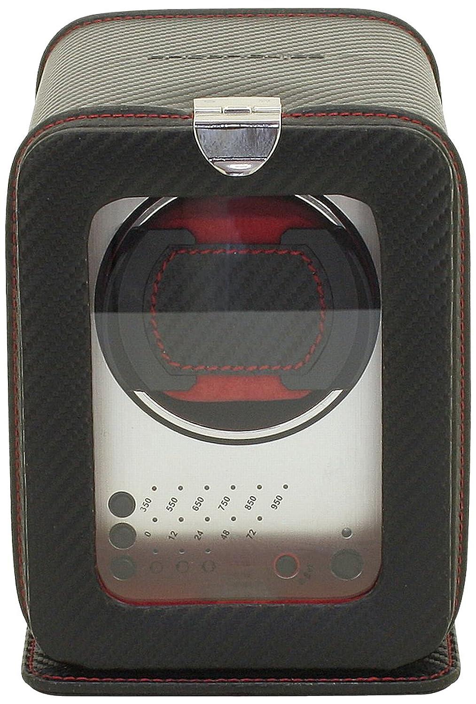 FriedrichI23 - Echtleder Uhrenbeweger fÜr Automatikuhren - 3 Programmsegmente - Carbon
