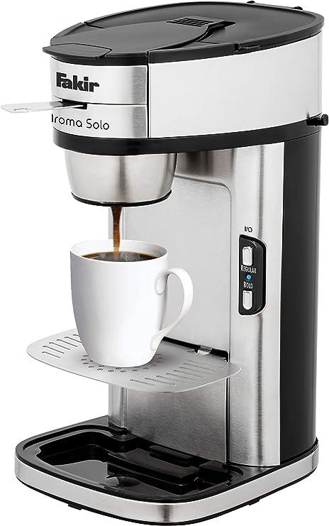 Fakir Aroma Solo - Cafetera de filtro para una taza, acero ...
