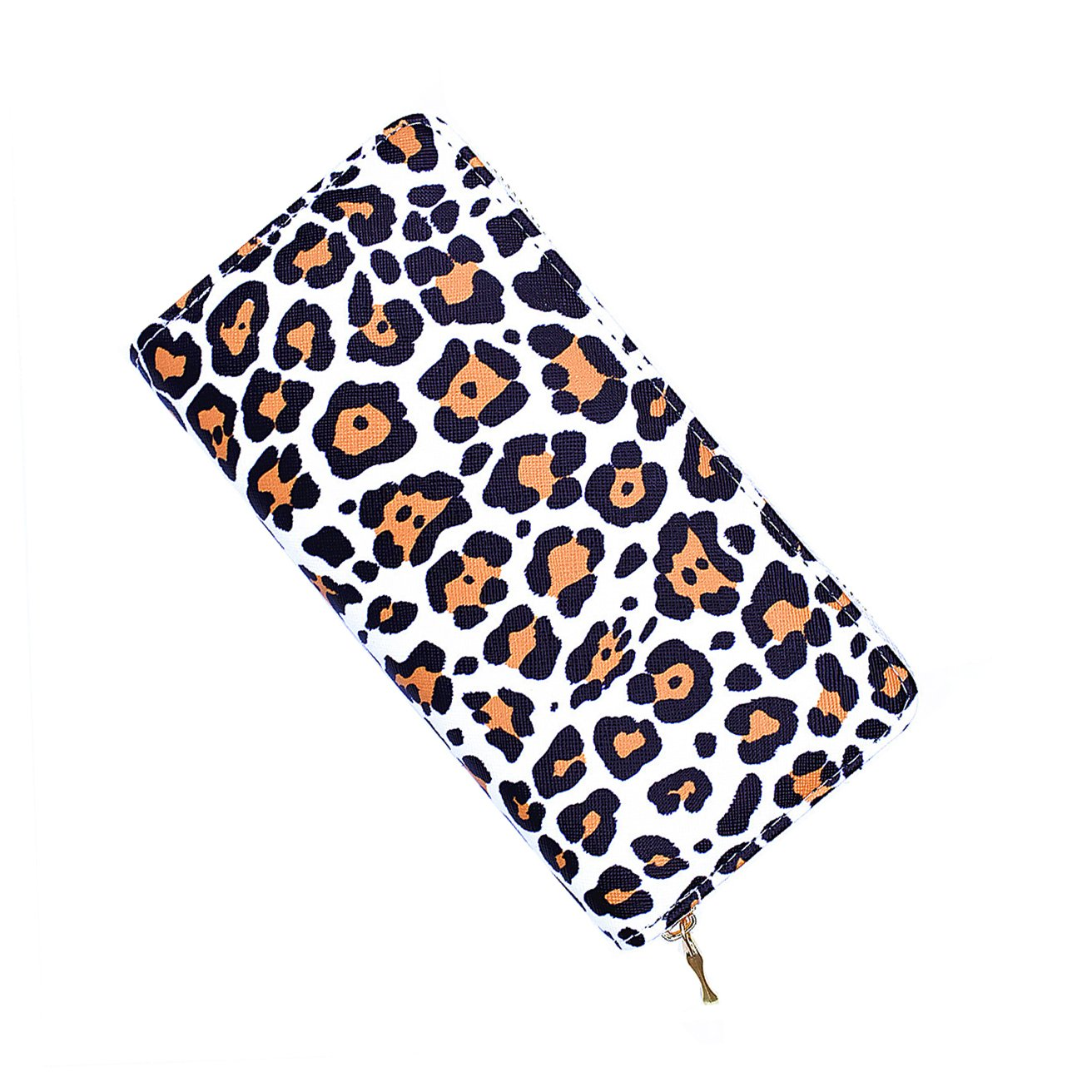 Womens Wallet RFID Blocking PU Leather Purse Multi Card Organizer fashion Leopard Wallet Coin Purse for Lady Gift