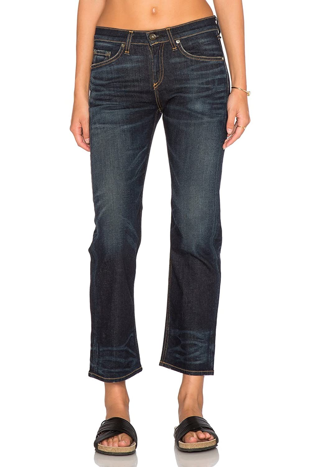 Nord Wash Size 23 Rag /& Bone Womens Cropped Straight Leg Jean
