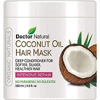 Doctor Natural Coconut Oil Hair Mask Deep Conditioner 8.8 Fl. Oz