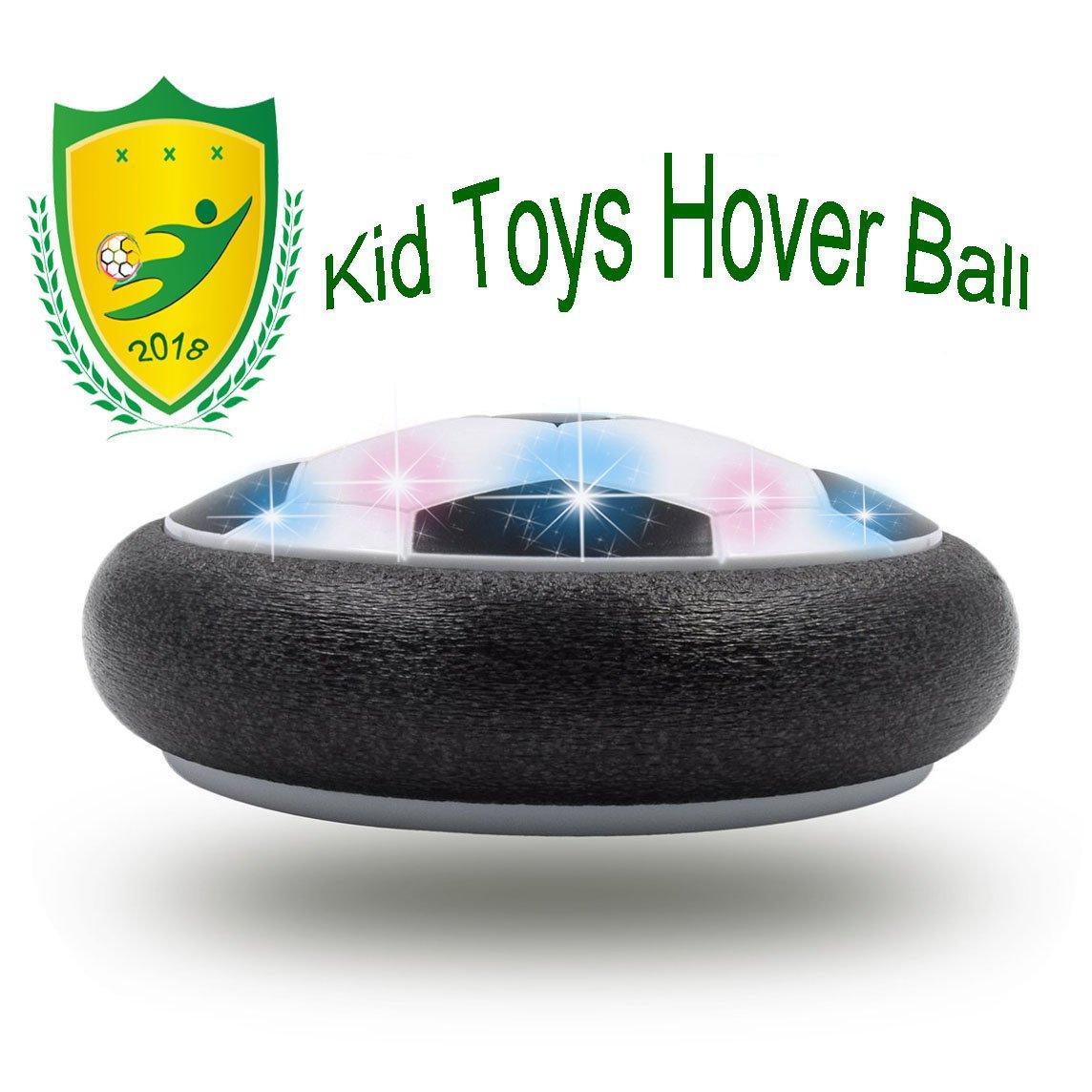3歳から12歳のお子様のためのギフトJRD&BS WINL面白いホバーサッカーおもちゃ4-9歳の男の子トレーニング用サッカーゲーム(スタイル2ブラック) B07CH9GDNL