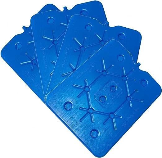 ToCi – Juego de 4 por 800 g plano nevera Acumuladores Ice Pack ...