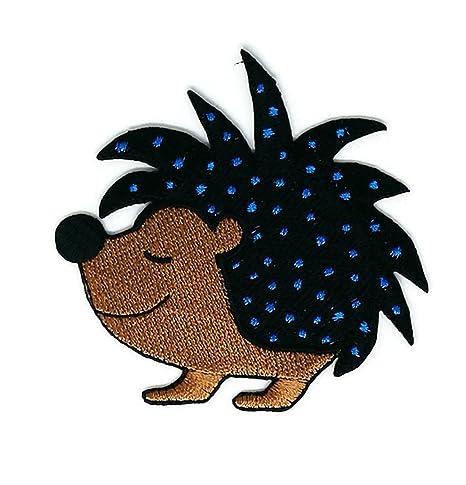 Smiley - Parche para coser o planchar, hecho a mano, diseño de dibujos animales. Pasa ...