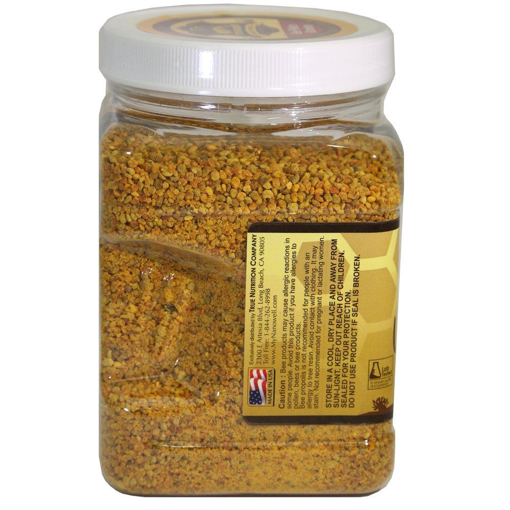 Nanowell® - Arizona Desert Wildflower Bee Pollen Granules 19.75 Oz (1.234 Lb / 560g) by NANOWELL (Image #2)