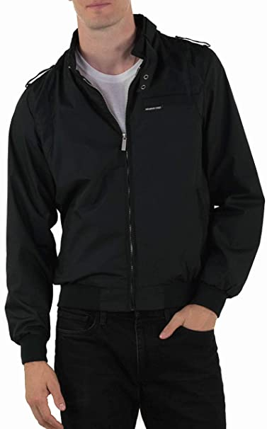 Members Only Mens Original Iconic Racer Jacket