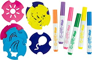 TOMY L18015 Doodle Bear - Washable Marker Set with Stencils