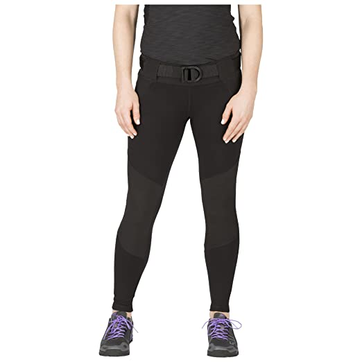 04db7fff7f707 5.11 Women's Raven Range Tight Tactical Range Yoga Pants, Style 64409,  Black, ...