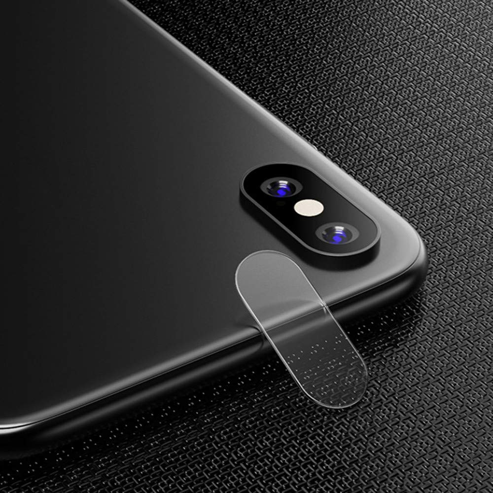[5 Pack ] Camera Protector For iPhone XS Max 6.5 inch, No hole Tempered Glass Full Protective Film Designed for Apple iPhone XS MAX Case (2018) (For iPhone XS MAX 6.5'', Clear) by GOTD (Image #2)
