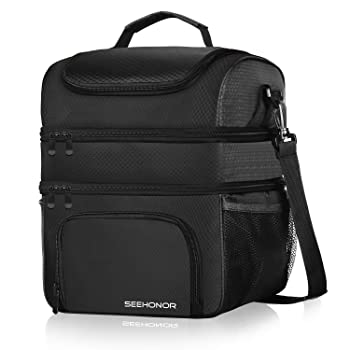 SeeHonor Leak-proof Insulated Lunch Box