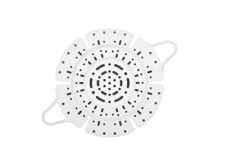 Granite Ware Universal Silicone Steamer, 7.5 to 16-Quart, White