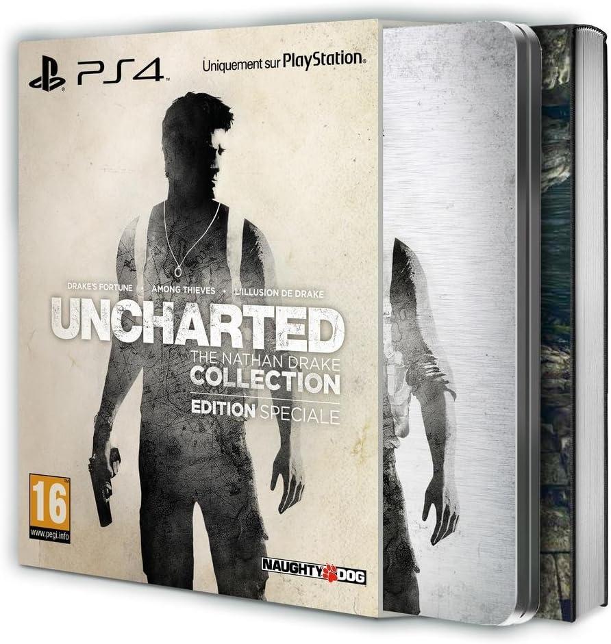 Uncharted: The Nathan Drake Collection - Édition Spéciale [Importación Francesa]: Amazon.es: Videojuegos