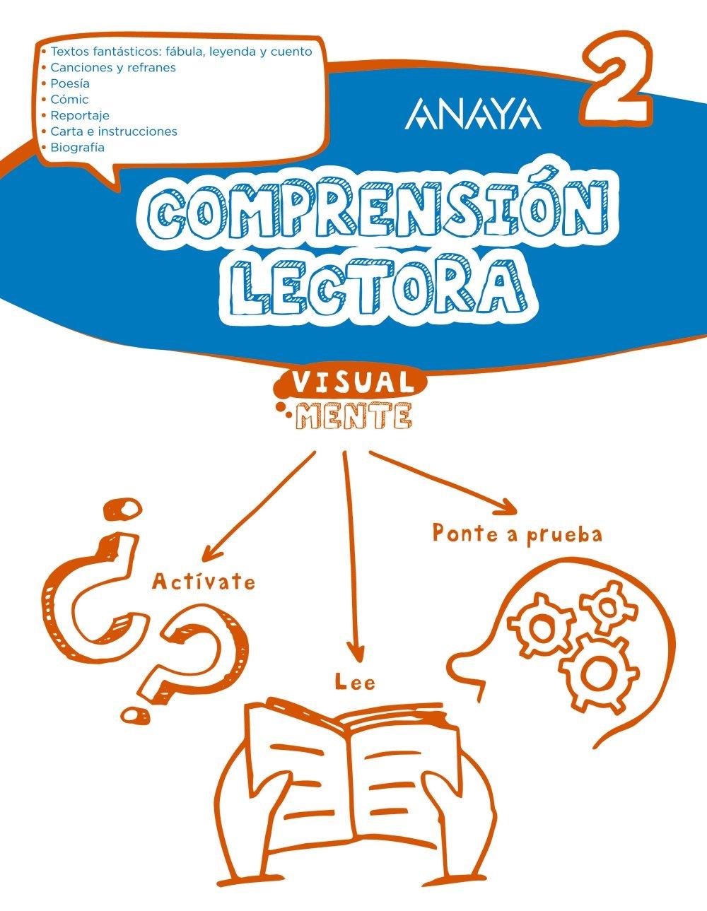 Comprensión lectora 2. (Visualmente) - 9788469831649: Amazon.es: Anaya Educación: Libros