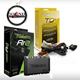 Maestro RR ADS-MRR2 Universal Radio Replacement & Steering Wheel Interface + iDatalink HRN-RR-TO2 Integration Adapter fits Se