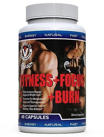 Fitness Focus Burn Fat Burner Thermogenic Pills Men Women Yoga Athletes Celebrities