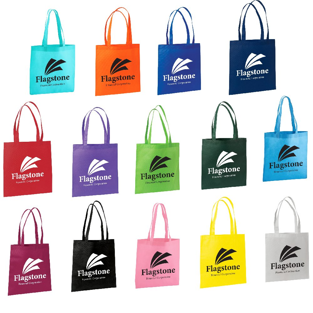 Value Tote - 50 Quantity - $1.80 Each - PROMOTIONAL PRODUCT / BULK / BRANDED with YOUR LOGO / CUSTOMIZED by Sunrise Identity (Image #4)