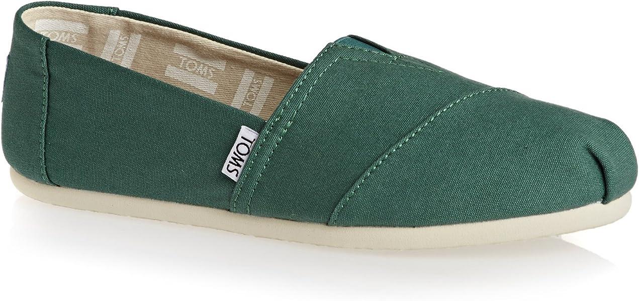 5cb19b5f705 TOMS Womens Classics Blue Spruce Canvas 37  Amazon.co.uk  Shoes   Bags