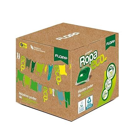 Detergente Ecológico en Cápsulas para la Ropa - FLOPP - Estuche 70 Cápsulas