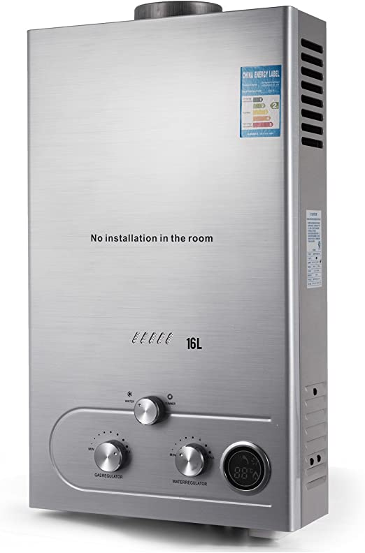 Natural Gas Water Heater 32KW 4.3GPM