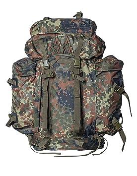 BW Bundeswehr Mochila Mochila de senderismo Montaña cazador army Mountain Pack + Army de Shop de BW llavero, Bundeswehr Flecktarn: Amazon.es: Deportes y ...