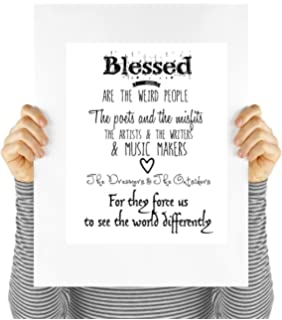 Amazoncom Blessed Are The Weird People The Poets And Misfits