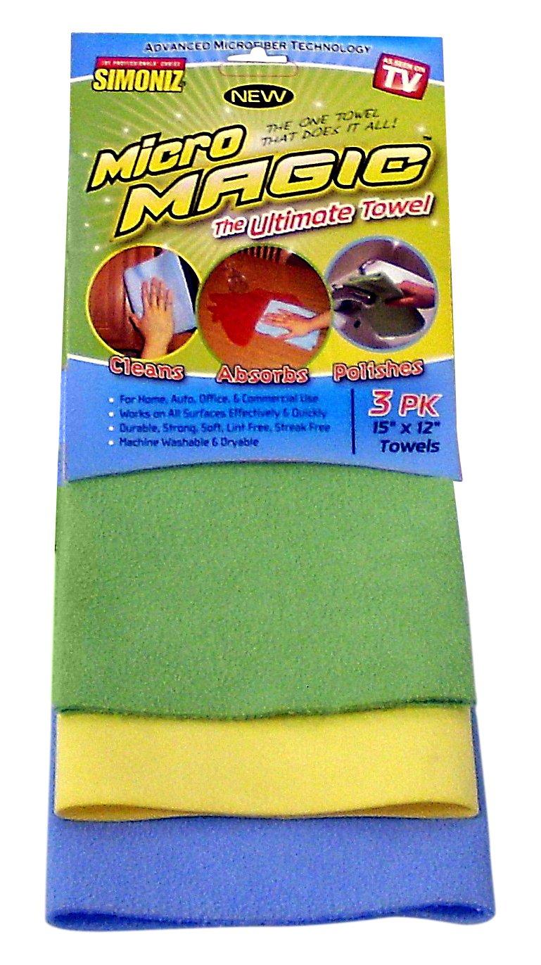 Micro Magic Towel (3 Pack)