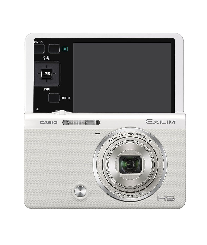【限定セール!】 CASIO ホワイト デジタルカメラ EXILIM EX-ZR50WE 1610万画素 自分撮りチルト液晶 B00MVIDG6E メイクアップトリプルショット ホワイト ホワイト 1610万画素 B00MVIDG6E, kalmia-カルミア パンプス&ブーツ:fcc7c997 --- efichas.com.br