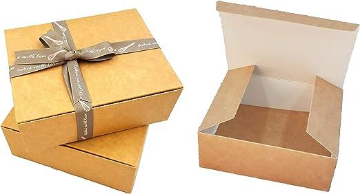 Pack de 10 x cajas de regalo automontables (código C) caja de ...