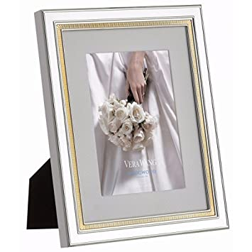 Amazoncom Wedgwood Vera Wang Chime Frame 5 By 7 Inch Gold Home