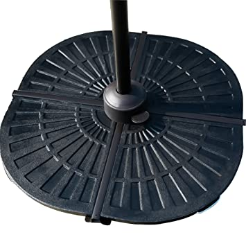 C Hopetree Patio Umbrella Base Weight Set, Suits For Offset/Cantilever  Umbrellas With