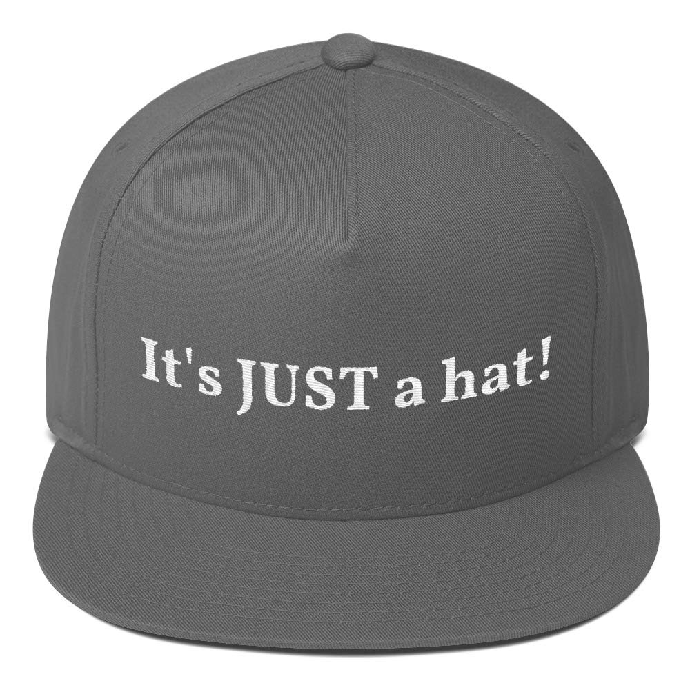 Styledjustforyou Funny MAGA Parody Made You Look 5 Panel Embroidered Snapback Hat Flat Bill Cap