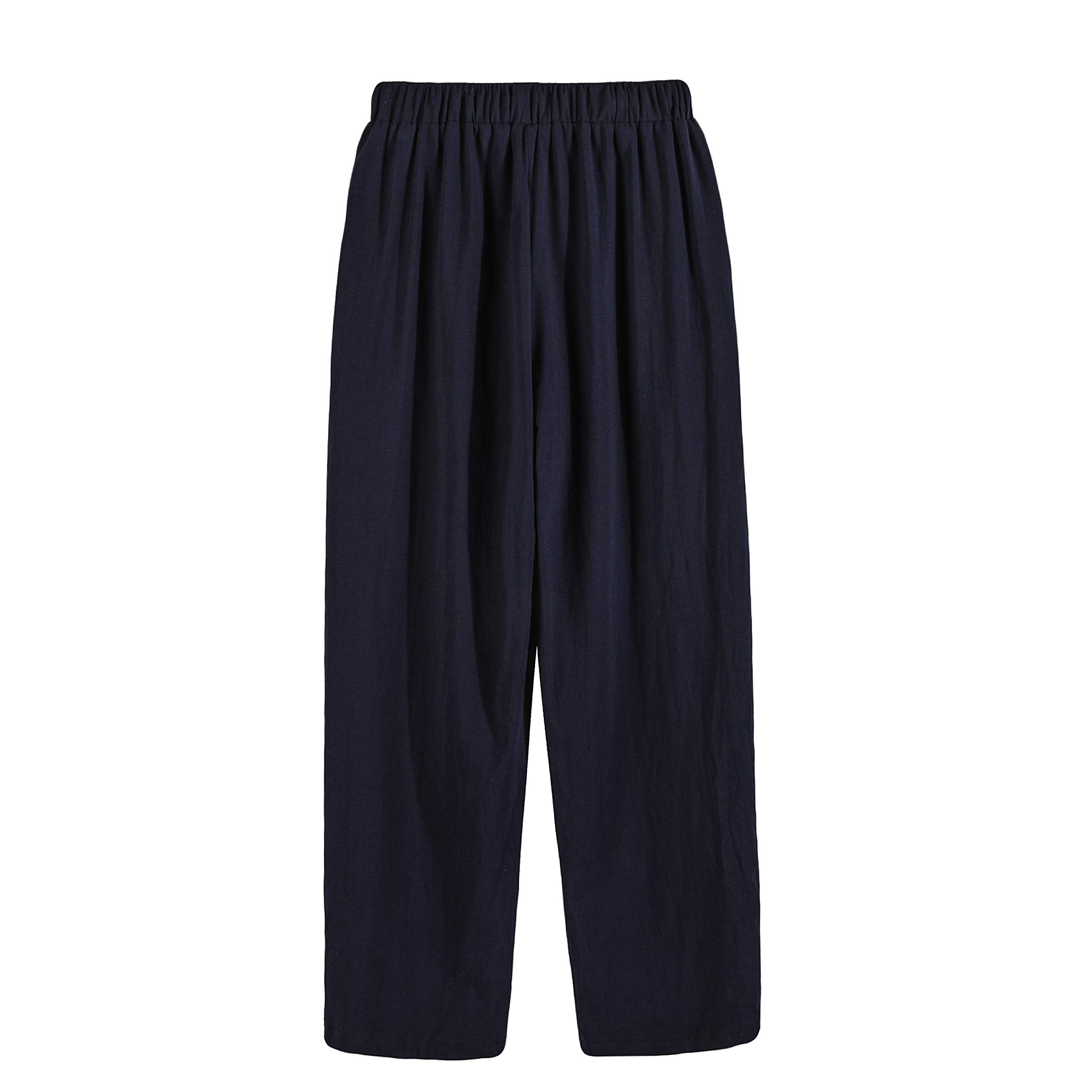 Suntasty Herren Schlafanzughose Pyjamahose Hose Lang(SP1001M/blueS)