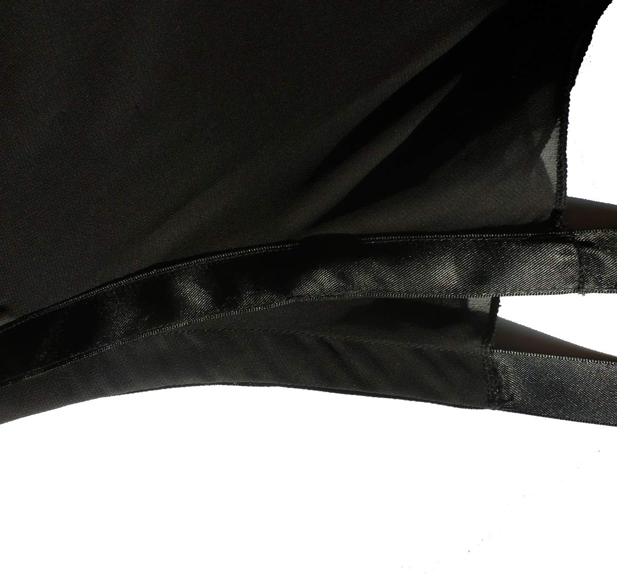 Ballet Dance Skirts for Women Chiffon Wrap Skirt Tutu for Girls-Big Size (M) Black