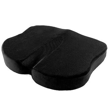 Antaprcis Cojin Ortopédico 100% de Espuma de memoria, Cojín de Asiento Cómodo Amortiguador de asiento de lujo para silla de oficina y asientos de coche: ...