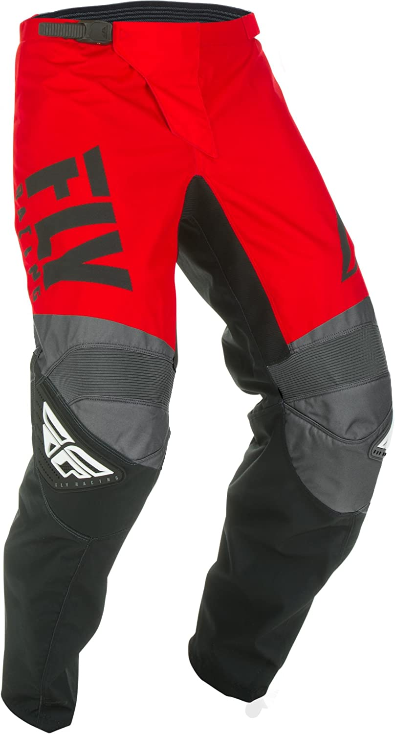 Fly Racing 2019 F-16 Jersey and Pants Combo Youth Red//Black//Gray Large,26