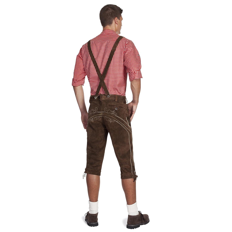 Gaudi-Leathers E100Lederhose pour Costume Folklorique Homme-0
