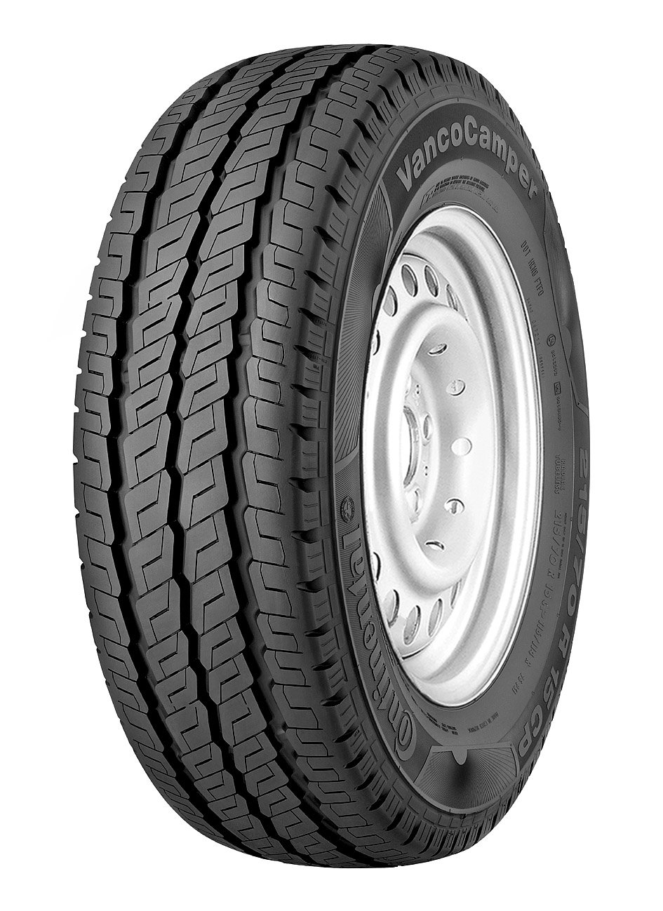 CONTINENTAL VancoCamper   - 225/65/16 112R - C/B/72dB - Summer tire (Light Truck) Continental Corporation