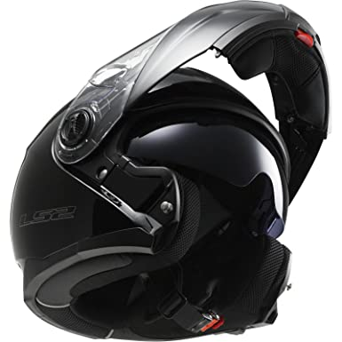 Ls2 Helmets Casque Ls2 Strobe Ff325 Noir Mat Amazonfr Auto Et Moto
