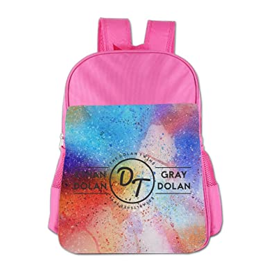 0b51682cbaa DT Dolan Twins Logo Unisex Backpack Child Fashion Schoolbag For 4-15 Years