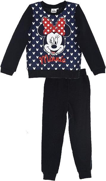 Chandal niña Minnie Disney color Azul Talla 6: Amazon.es: Ropa y ...